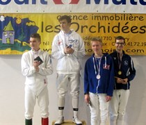 21ème tournoi international à l'épée à Saint-Genis